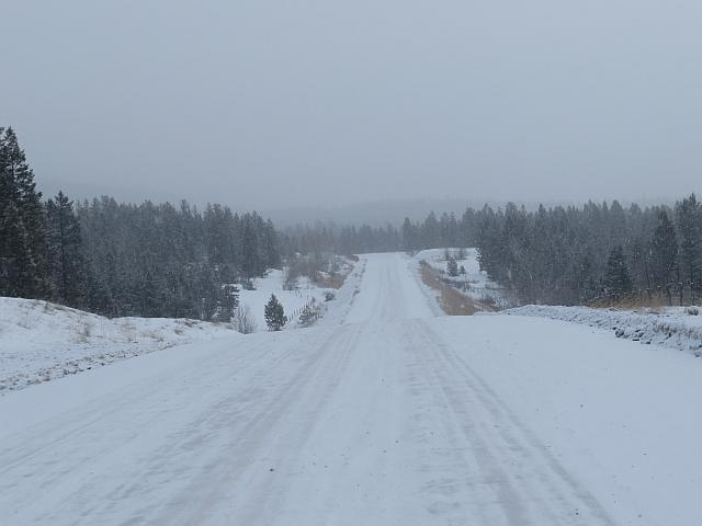 Highway 20 winter