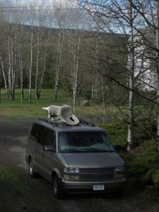 my van at 100 Mile