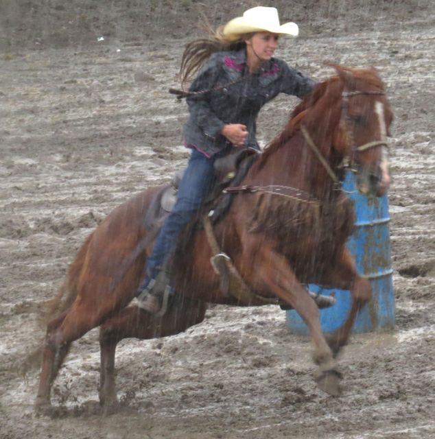 16 Barrel racing mudbath 3